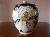 "Moorcroft Jar 401/5 - Paradise Flower - Emma Bossons - 5"" / 12cm Tall"