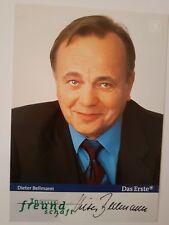 Autogrammkarte Dieter Bellmann, In aller Freundschaft