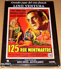 125 RUE MONTMARTRE - Français Español - DVD R2 - Precintada