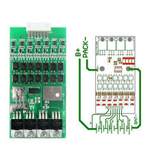 7s Cells 24V 20A W/Balancing Li-ion Lithium 18650 Battery BMS Protection Board L