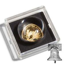 MAGNICAP 2x2 Coin Holder Capsule 1/20oz Gold Maple Leaf Magnifier 14mm Case