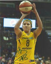 BEN ABDELKADER Signed 8x10 Photo WNBA Basketball INDIANA FEVER Belgium FREE SHIP