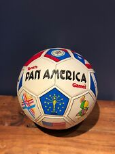 Tenth Pan American Games Volleyball, USA 1959-1987, Vintage Official 5 Game Ball