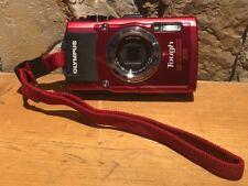 Olympus Digital Camera Stylus Tg-3 Tough Red 16 Million Pixel Cmos F2.0