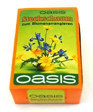 10 Stück Oasis Flower Steckschwamm Steckschaum Ziegelform 108x77x43mm