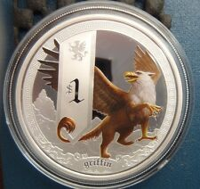 Perth Mint 2013 Mythical Creatures Griffin 1oz Silver Proof Rare Signed edition!