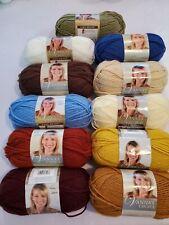Lion Brand Vanna's Choice Yarn. Soft acrylic. 3.50 oz. 11 colors.