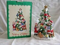 Christmas Tree Votive Tealight Candle Holder Vintage Porcelain Favorite things