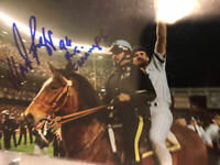 Wade Boggs Signed 4x6 Photo Ny Yankees 1996 World Series  Auto IP