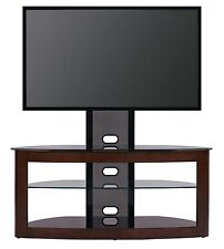TransDeco TV Stand w/ Universal Mount 40- 80 inch TV Entertainment Center - NEW
