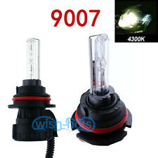 2PCS AC 9007 4300K XENON HID OEM HIGH LOW BEAM HEAD LIGHT BULBS FOR HUMMER MAZDA