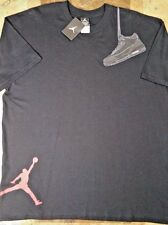 Rare 2007 Nike Air Jordan 3 Black Cat Retro Shirt XL Vintage Cement III OG BRED