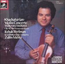 Ipo,Mehta,Perlman,Khachaturian, Khachaturian: Violin Concerto / Tchaikovsky: Med