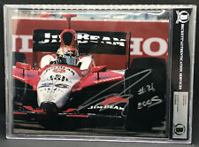 DAN WHELDON 2X INDY 500 WINNER RACING HOF PHOTO AUTOGRAPHED SIGNED BECKETT BAS