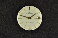 VINTAGE MENS MOVADO WRISTWATCH MOVEMENT CAL 608 - RUNNING