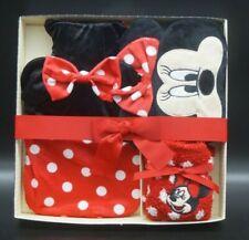 Disney Minnie Mouse Geschenk Set Wärmflasche + Cosy Socken + Schlafbrille Maus