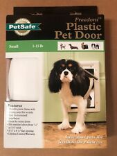 PetSafe Premium Plastic Pet Door White, Small PPA00-10958 / UPC 729849109582