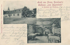 Marburg Drau Maribor Slovenia MARIBORU Gasthaus Lembach Jägerwirth 1901 RRR
