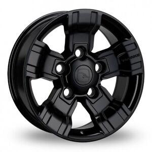 "Hawke Alloy Wheels 18"" Osprey Wheels Gloss Black Set of 4 **FREE POSTAGE**"