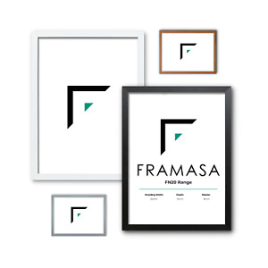 Thin Matt Photo Frame Picture Frame Poster Frame In Various Sizes & Colors