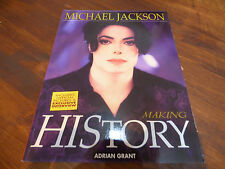 Michael Jackson Making History Adrian Grant libretto + poster