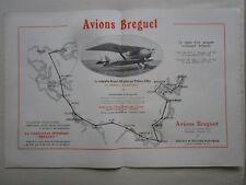 6/1924 PUB AVION BREGUET XIX PARIS SHANGAI PEKIN CHINA TOKYO PELLETIER D'OISY AD