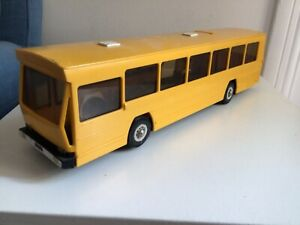 Mont-blanc bus berliet jaune manque portes  centrales