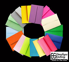 50 Boxed Assortment Colored Envelopes A2 for Enclosures Note Cards Responses