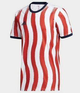 adidas 2021 MLS Americana Pre-Match Aeroready Top Jersey Shirt GJ0784 Men's L
