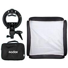Godox S-Type Bracket Holder 50x50cm Softbox For Flash Speedlite Snoot Reflector