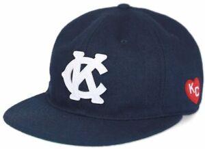 NLBM Negro League Heritage Wool Cap Kansas City Monarchs