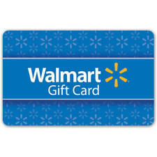 (10) $1 Digital Walmart e Gift Cards