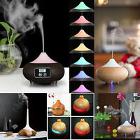 LED Ultrasonic Humidifier Essential Oil Diffuser House Aromatherapy Purifier