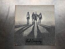 "1976 Bad Company "" Burning Sky "" Lp Record Album"