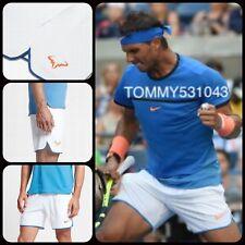 "Q2 Nike Court Flex Rafa Ace  7"" Mens Tennis Shorts LG 821703-101 Size XXL"