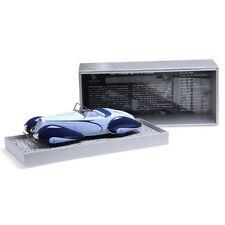 1937 DELAHAYE TYPE 135 M CABRIOLET BLUE 1/18 LTD TO 1002PC MINICHAMPS 107116160