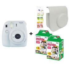 Fujifilm Instax Mini 9 Smoke Blanc + 40 balles + étui + GRATUIT Wall album