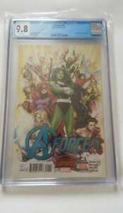 A-FORCE #1 CGC 9.8 All Female Avengers - 1st Appearance of Singularity 2015