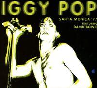 Iggy Pop feat. David Bowie - Santa Monica '77 (2018)  CD  NEW  SPEEDYPOST