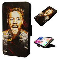 Conor Mcgregor - Flip Phone Case Wallet Cover - Fits Iphones & Samsung