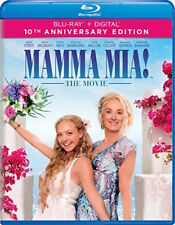 MAMMA MIA: THE MOVIE BLU-RAY - 10TH ANNIVERSARY EDITION - NEW UNOPENED - STREEP