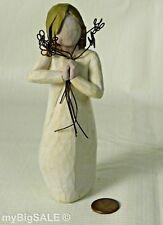 Willow Tree Friendship Figurine 2004 Susan Lordi Demdaco Girl Holding Flowers