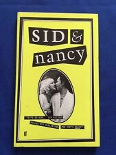 SID & NANCY - FIRST EDITION BY ALEX COX & ABBE WOOL
