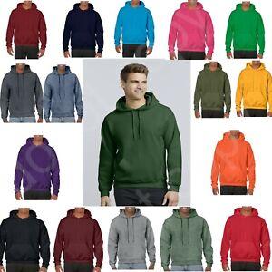 Gildan Adult Heavy Blend Pullover Hooded Sweatshirt Plain Hoodie