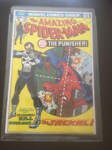 Amazing Spider-Man 129 (1974) 1st app Punisher. Hot Key issue. High grade Vfn++