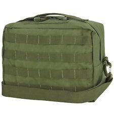 CONDOR #137 Tactical MOLLE Utility Shoulder Bag Modular Detach Straps OD Green