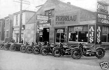 "5 ""x 7"" FANTON&VALENTINE HARLEY DAVIDSON MOTORCYCLES AJS SUPER SHELL CASTROL"