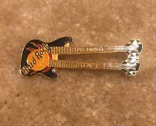 Hard Rock Cafe No Name Opening Staff Boston Washington DC Guitar Pin Very Rare