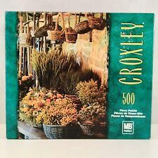 Vintage 2002 Milton Bradley Croxley 500 Piece Puzzle Fall Flowers NEW Sealed