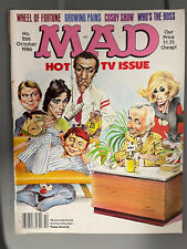 Vintage Mad Magazine Hot TV Issue Growing Pains Cosby Who's The Boss #266 Oct 86